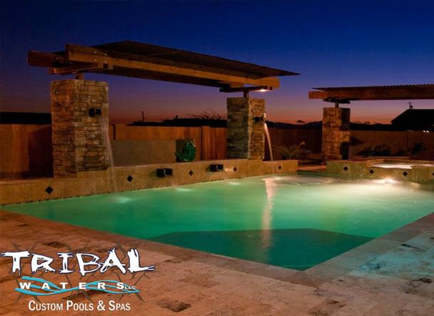hardscaping designs in Phoenix, AZ | Tribal Waters Custom Pools & Spas